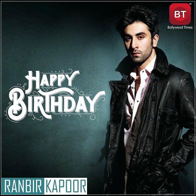 Happy Birthday Ranbir Kapoor.... RockStar!! . . . . . . .