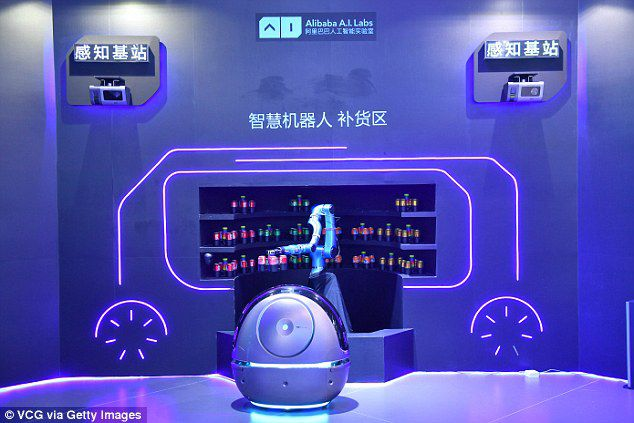 Evan Kirstel On Twitter Alibaba Unveils Space Egg Robot Thats