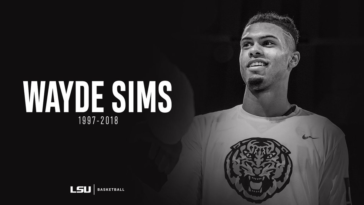 LSU Mourns The Loss of Wayde Sims  http://lsul.su/2xLhhEW