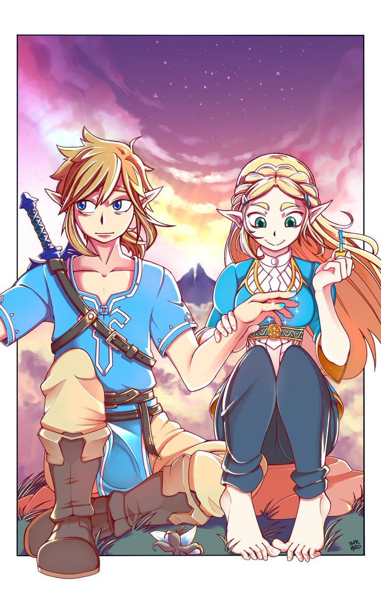 Suprhiro On Twitter Zelda Doing Links Nails Botw