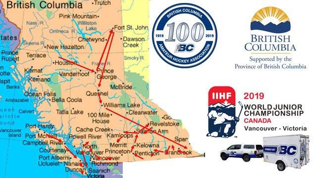 Bc Hockey On Twitter Bc Hockey Is Embarking On 5 639 Km Journey