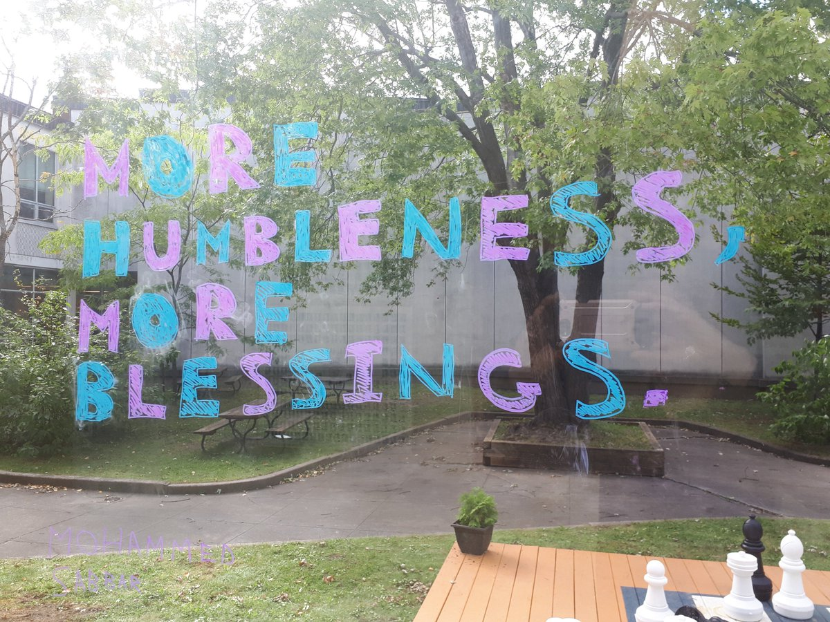 Words on Windows? Gr.9 students expressing the Beatitudes in their own words and sharing the message for all to see! Blessed are those who share the Good News :) #StPaulOCSB #BeCommunity