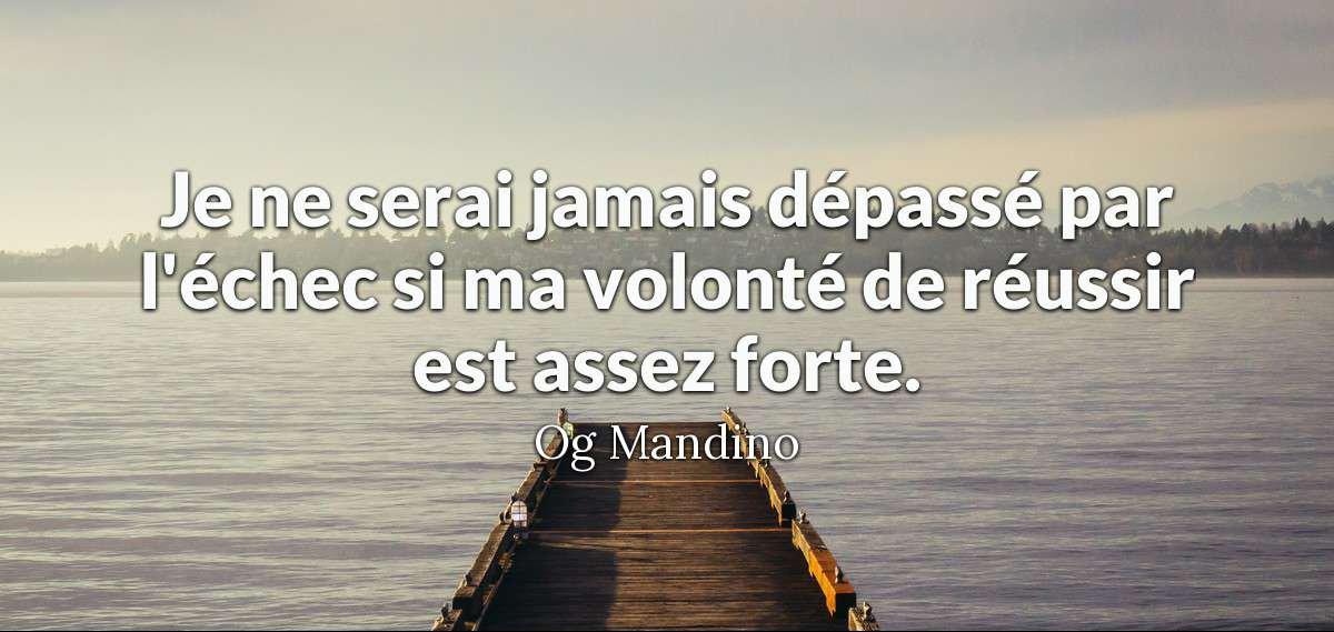 Groupe Rodin Twitterissä Citation Mandino Je Ne Serai