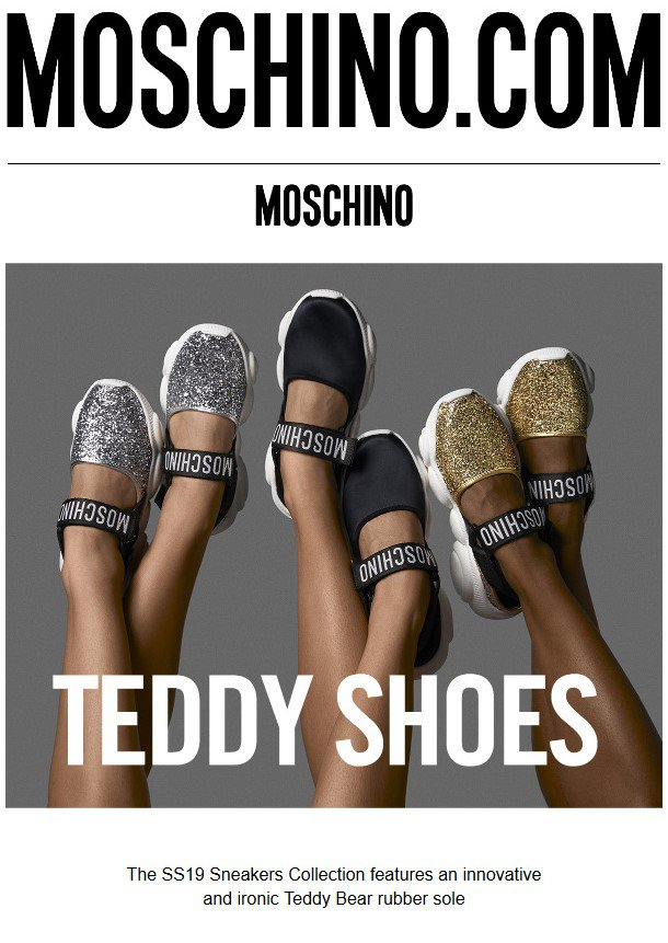 Shoes Top Latest Cnrd6 News And Teddy Breaking Headlines Moschino yvYbgf76