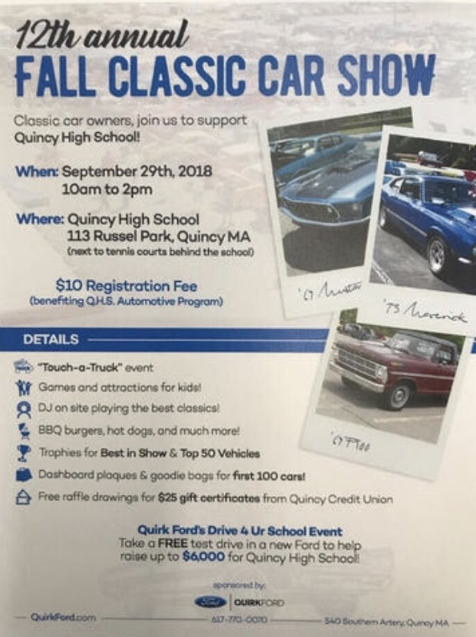 Quincy Auto Auction >> Quincy Auto Auction On Twitter Be Sure To Head Down To Quincy High
