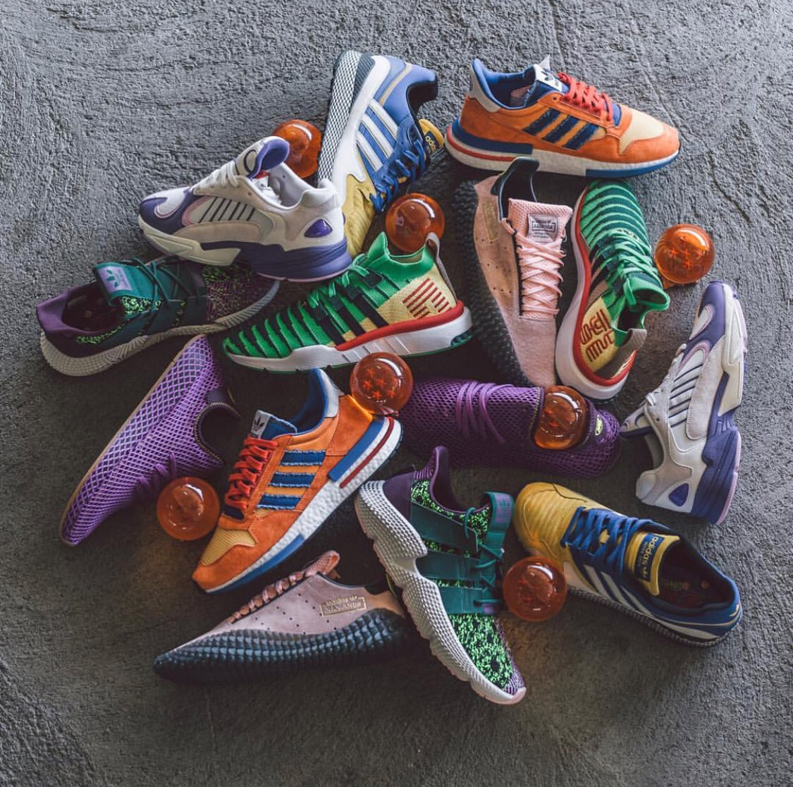 13fd35eab5f6 The entire Dragon Ball Z x @AdidasOriginals  collectionpic.twitter.com/dHyJUaudhR