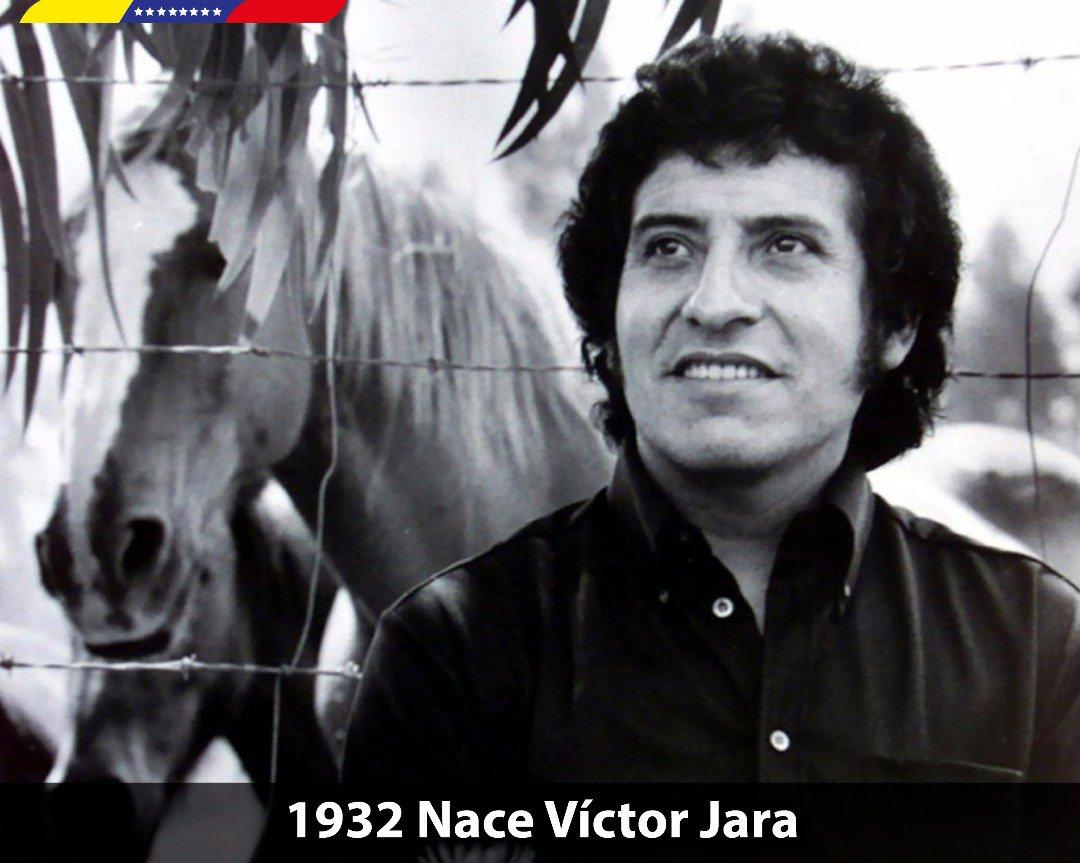 La dictadura pinochetista pretendió extinguir la llamarada del cantor y revolucionario chileno, Víctor Jara. A 86 años de su nacimiento, sentimos viva su música revolucionaria en el corazón de los pueblos libres. Su lucha por la tierra, es nuestra lucha ¡A desalambrar!