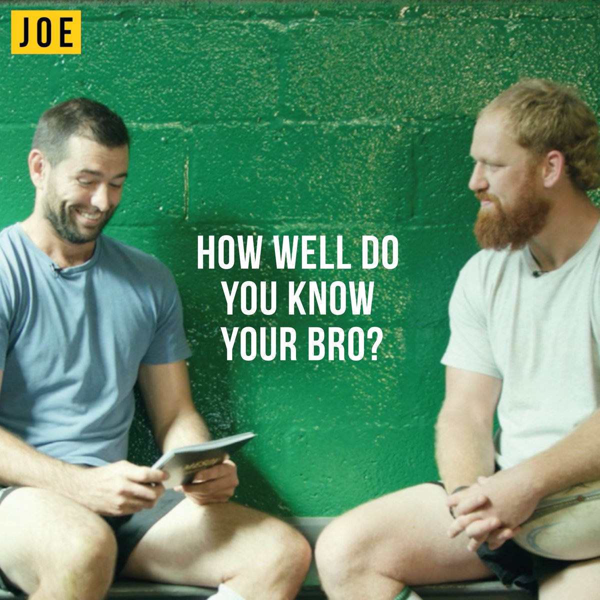 "JOE.co.uk On Twitter: ""How Well Do You Know Your Bro? We"