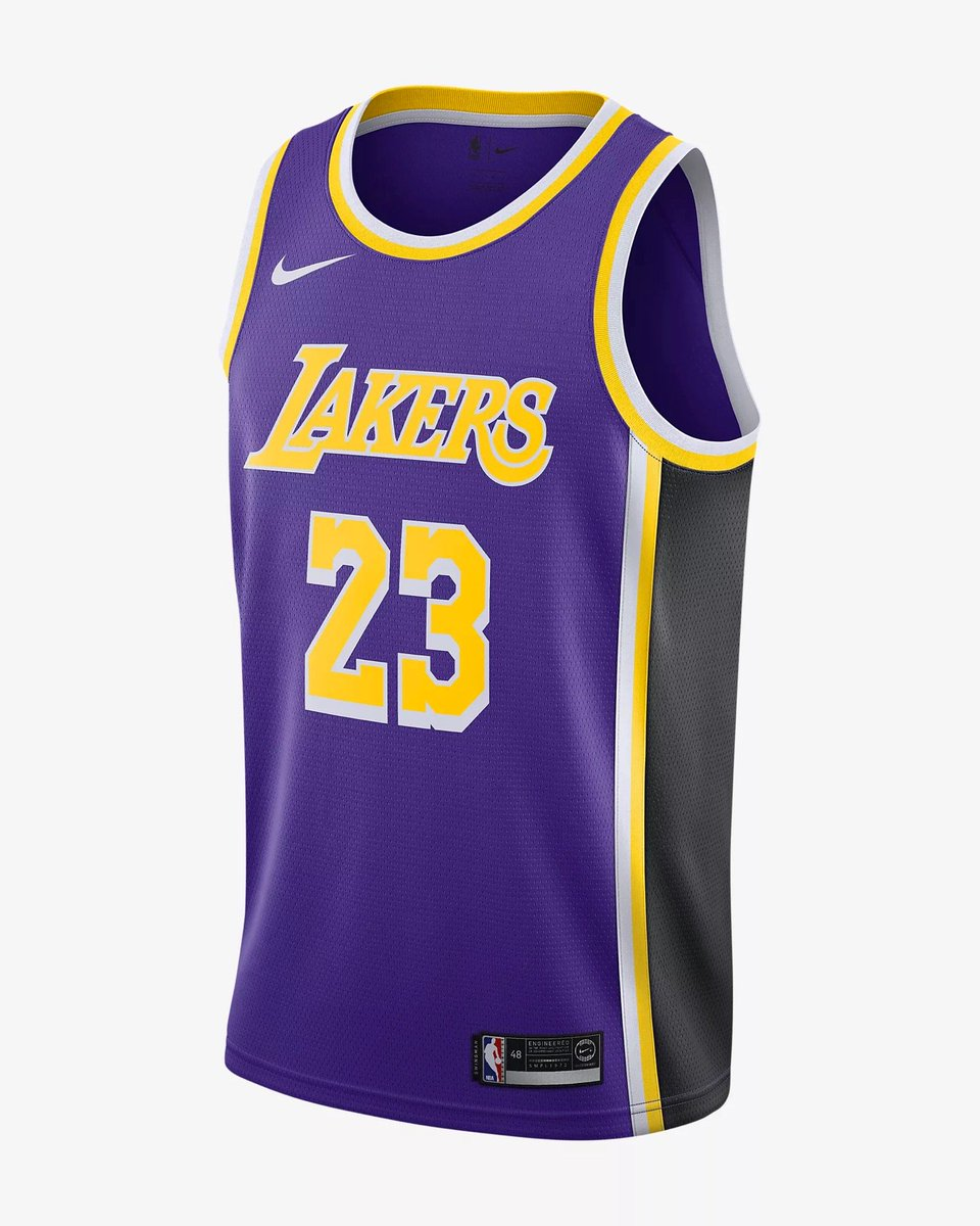 """caa1dc3b1e6 LeBron x Nike Lakers """"Statement Edition"""" Jersey direct on  nikestore Link  -  https   go.j23app.com 90h pic.twitter.com R37wC3Llhz"""