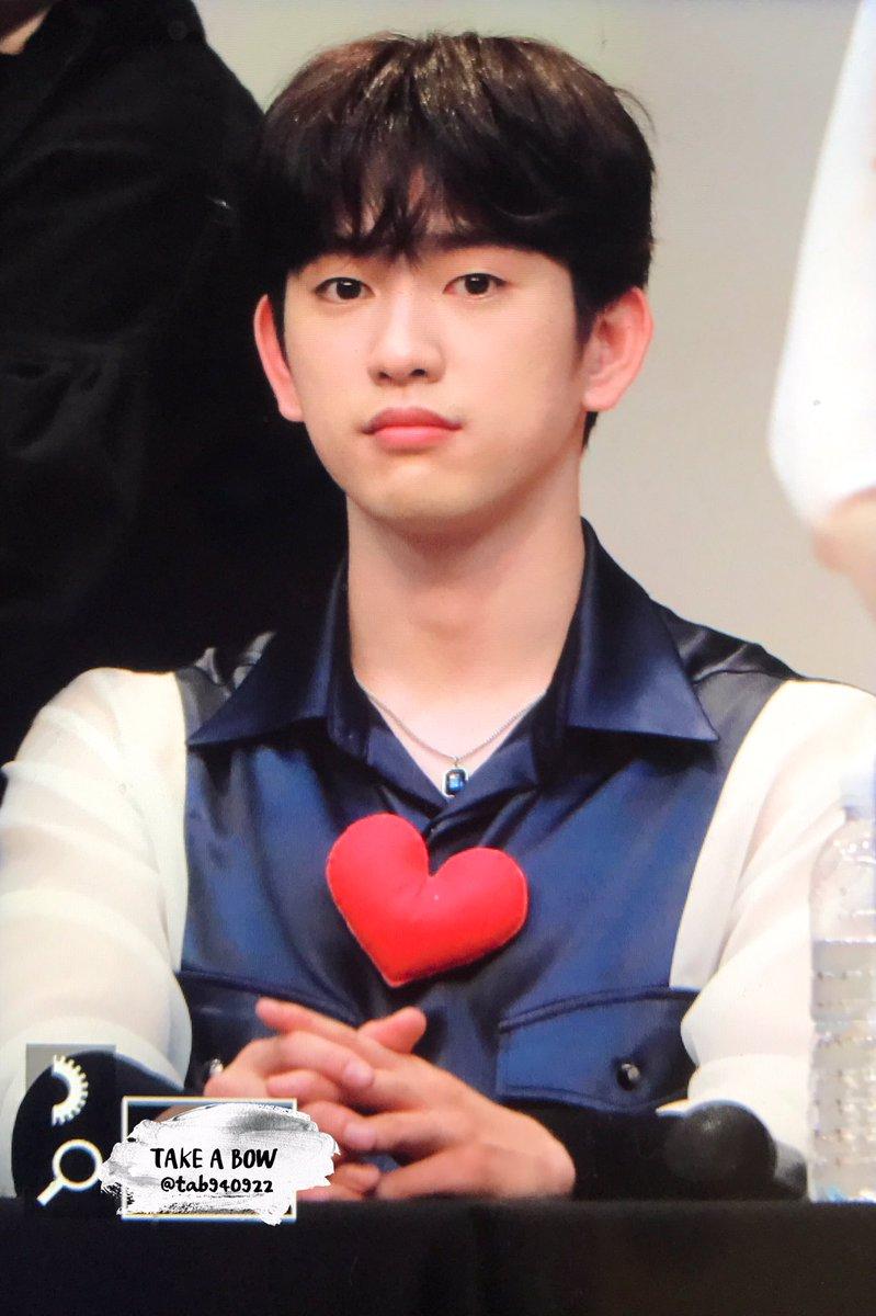 180928 여의도 팬싸인회  #진영 #Jinyoung #GOT7   #갓세븐          #Lullaby 🐥🐥🐥❤️1위 축하해 ❤️