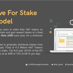 Image for the Tweet beginning: The Incentive for Stake model