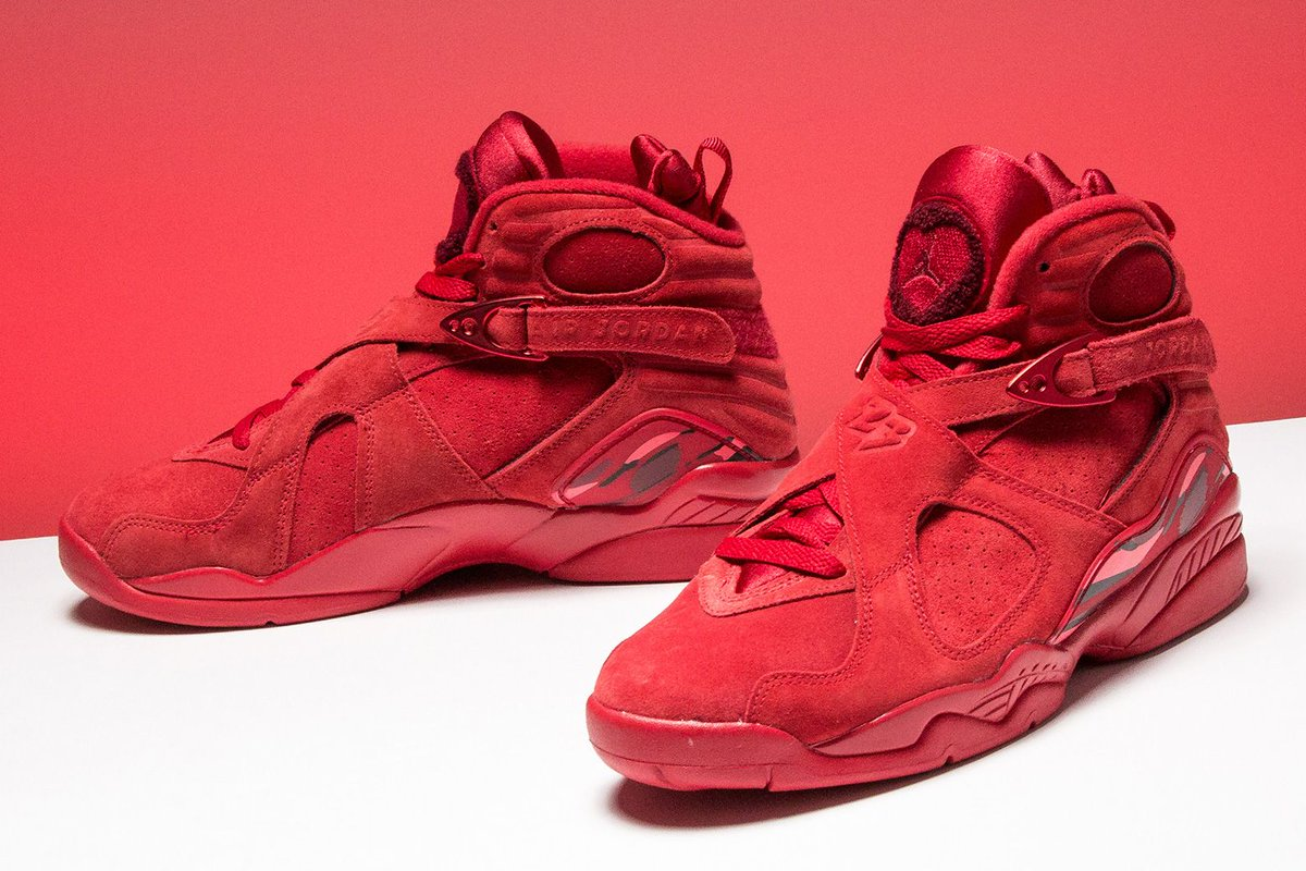 90c1aeadf758fc ... Air Jordan 8 for Valentine s Day. The style also makes the perfect gift  for any day of the year. https   buff.ly 2xTtt5O pic.twitter.com J8El91AUDx