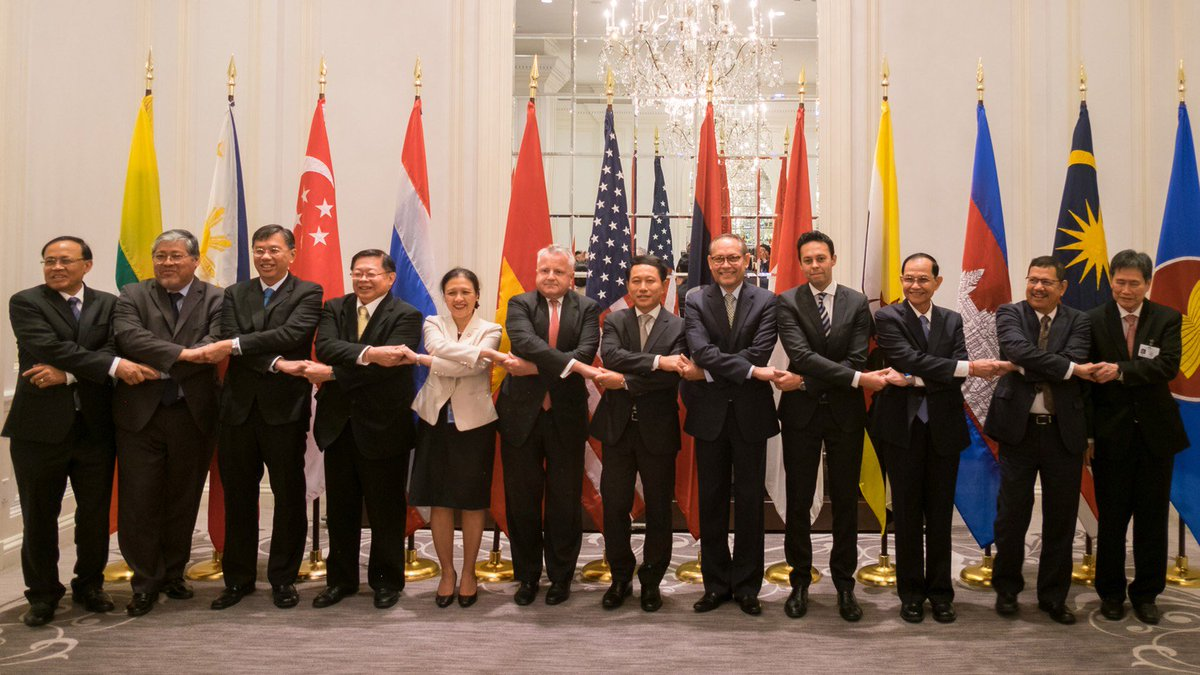 Deputy Secretary Sullivan meeting with the ten member countries of ASEAN on the margins of UNGA in New York City.