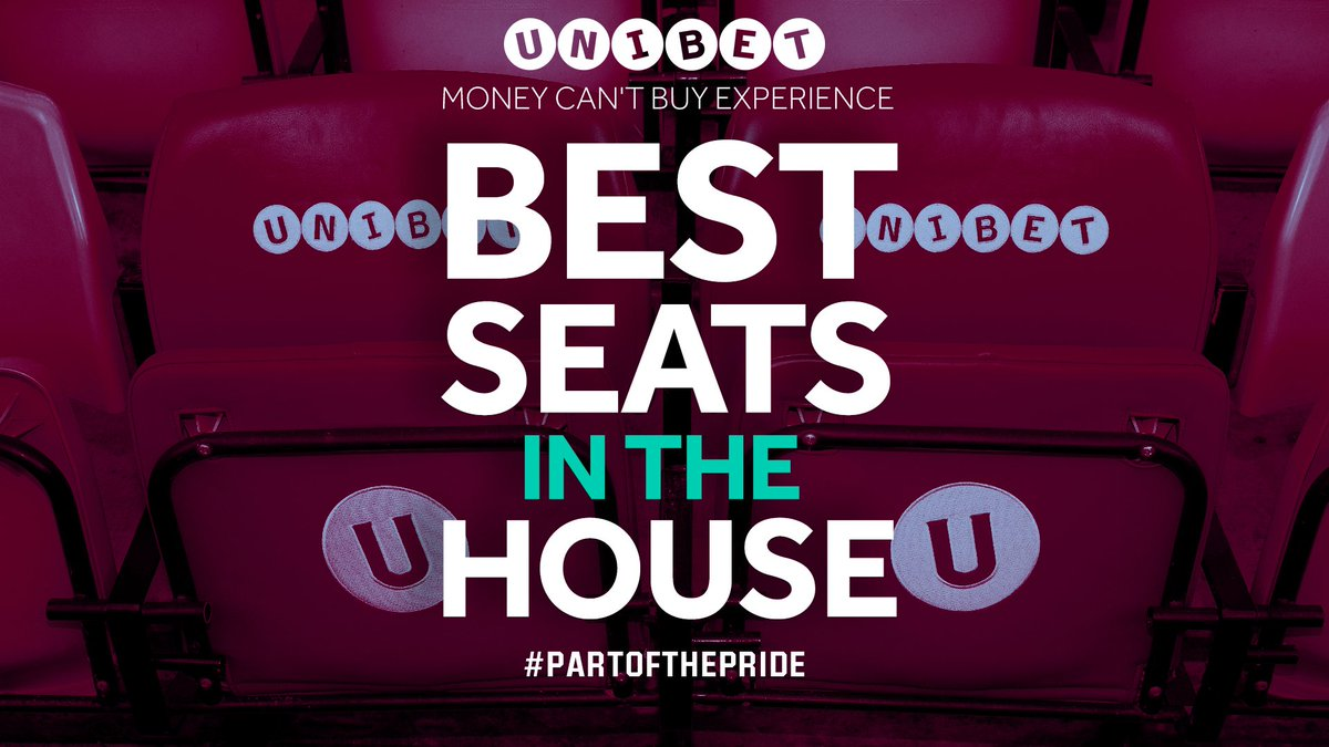 Win a money can't buy experience at #AVFC v Derby, courtesy of @Unibet, this Saturday!   💺 Best seats in the house 🚶♂️ Pitchside walk 👕 2x personalised shirts 🤞 Chance to meet the MOTM   RT for your chance to win 🔁   T&Cs apply: https://bit.ly/2P26wbP