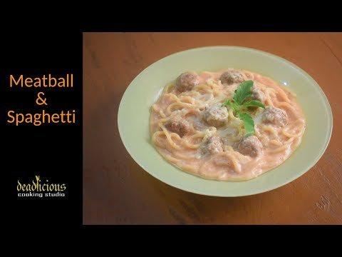 Cream Sauce Meatball & Spaghetti|Deadlicious Cooking Studio https://t.co/o8bvKTFnGi https://t.co/CG2GgZAcU2