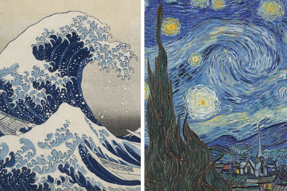 How Van Gogh's Starry Night was inspired by Hokusai's Great Wave https://t.co/l9L2tcPFrP