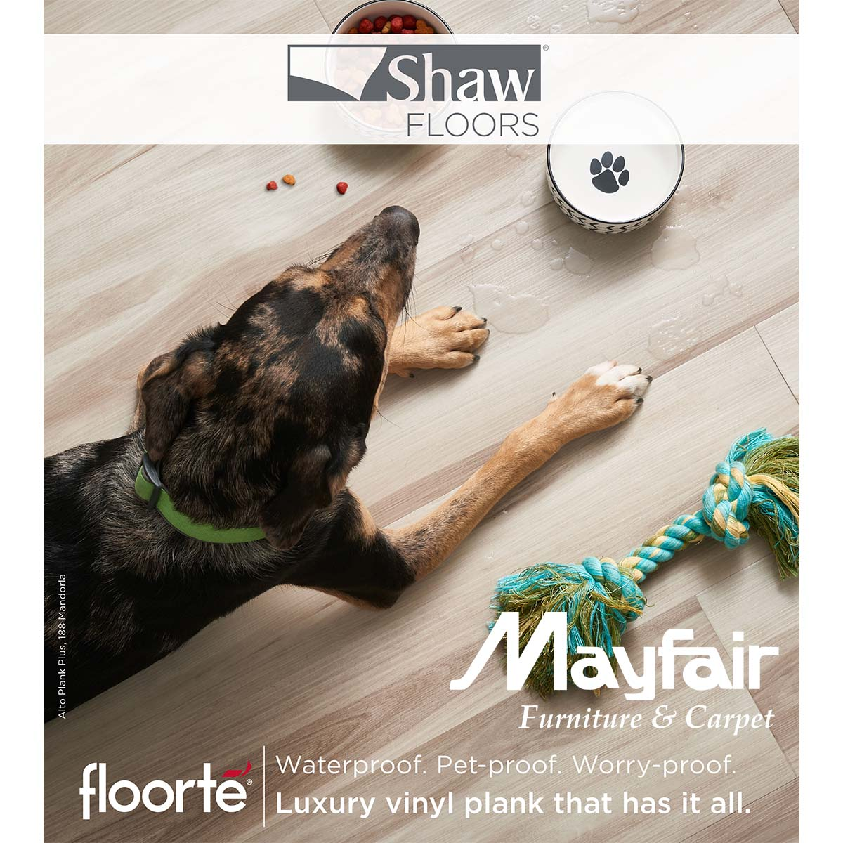 @MayfairHomeDeco Offers Floorte Floors Which Have Waterproof Qualities.  This Is Ideal For High Moisture Areas Like Basements, Bathrooms, U0026 Mudrooms.