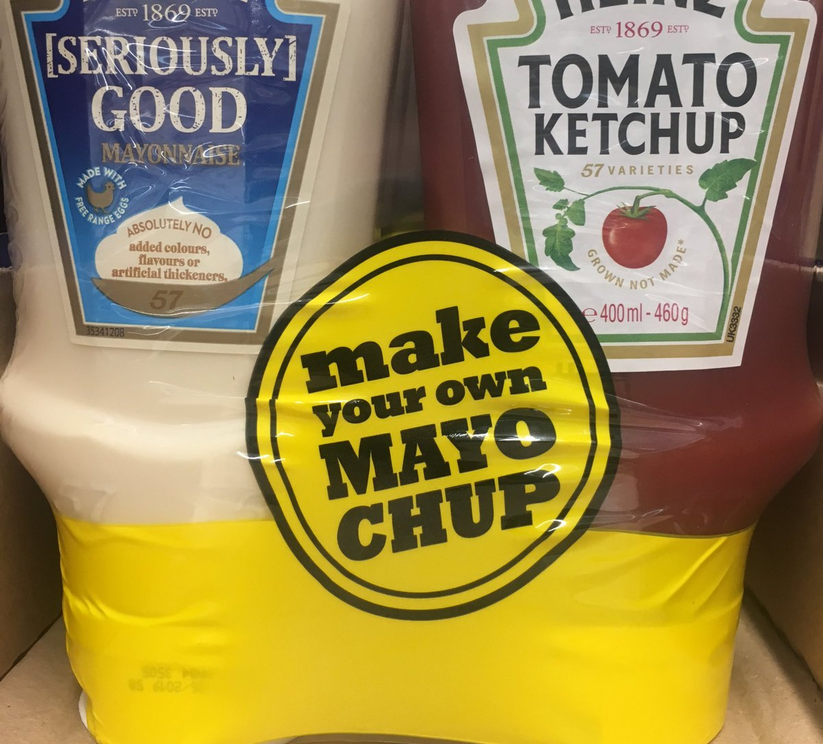 Hate to sound old but isn't that just marie rose?😂#mayochup