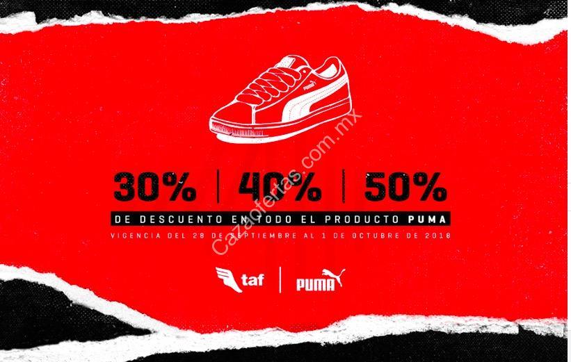04d28be94 #Oferta #promocion #México: Promoción TAF Puma 70 Aniversario: del 30% al  50% de descuento en todos los productos Puma http://bit.ly/2DCpGQv ...