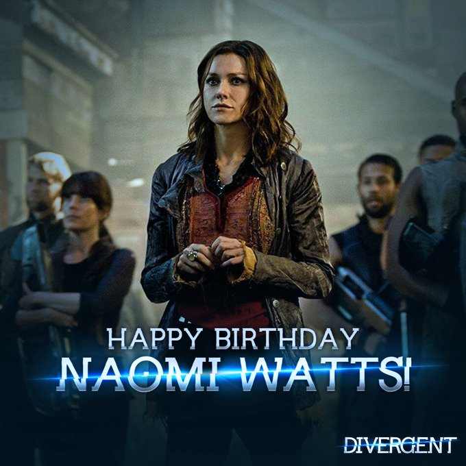 Join us in wishing the talented Naomi Watts a happy birthday!