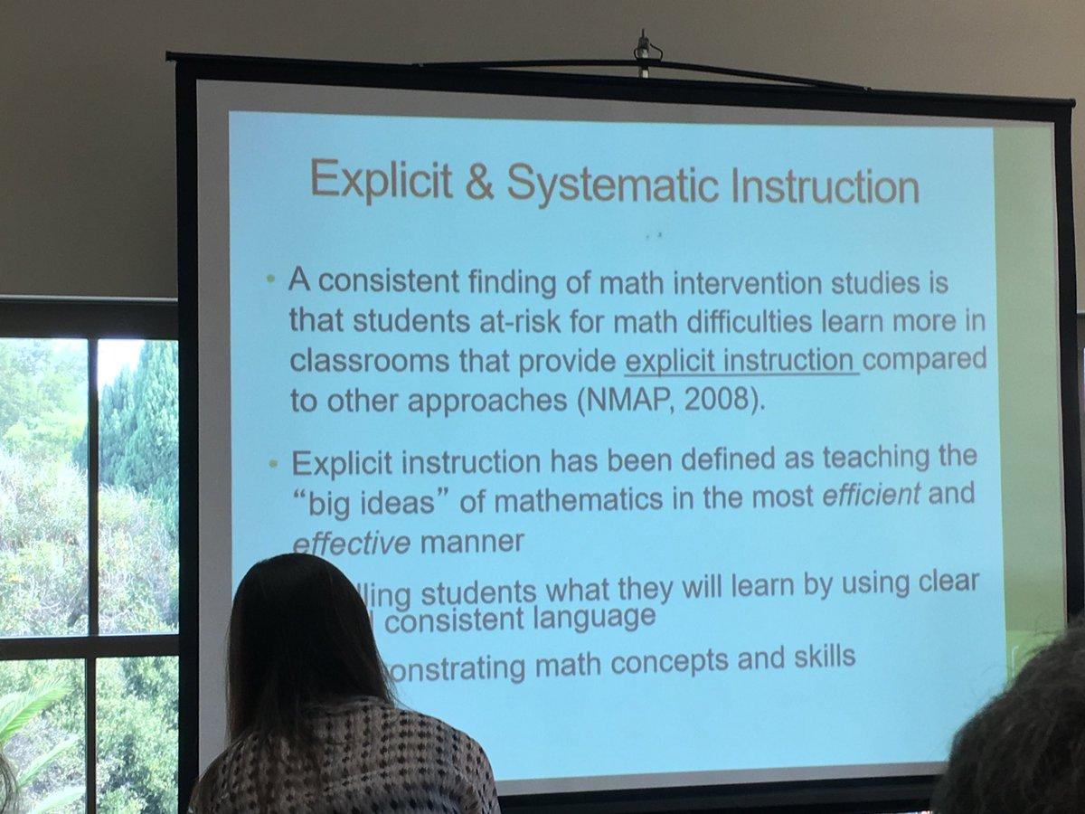 Definition of explicit instruction.