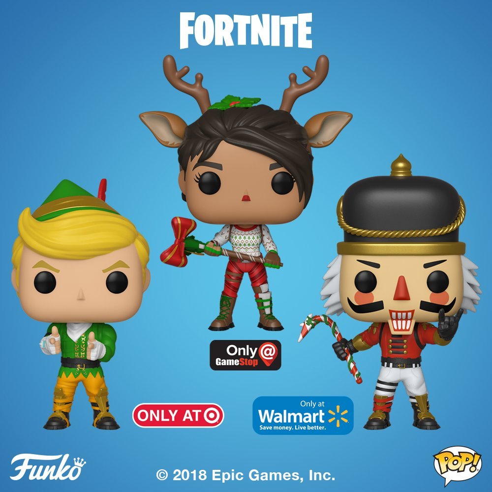 funkoverified account - red nosed raider fortnite pop