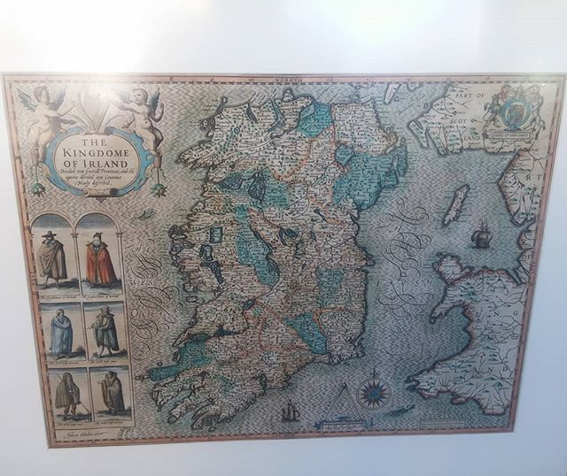 John Speed Map Of Ireland.Brian Grant Duff On Twitter 1611 John Speed Map Of Ireland Lot