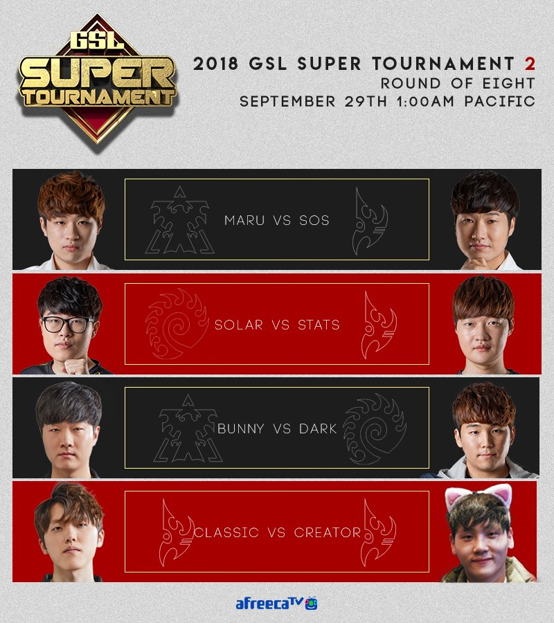 2018 GSL Super Tournament 2 3. nap