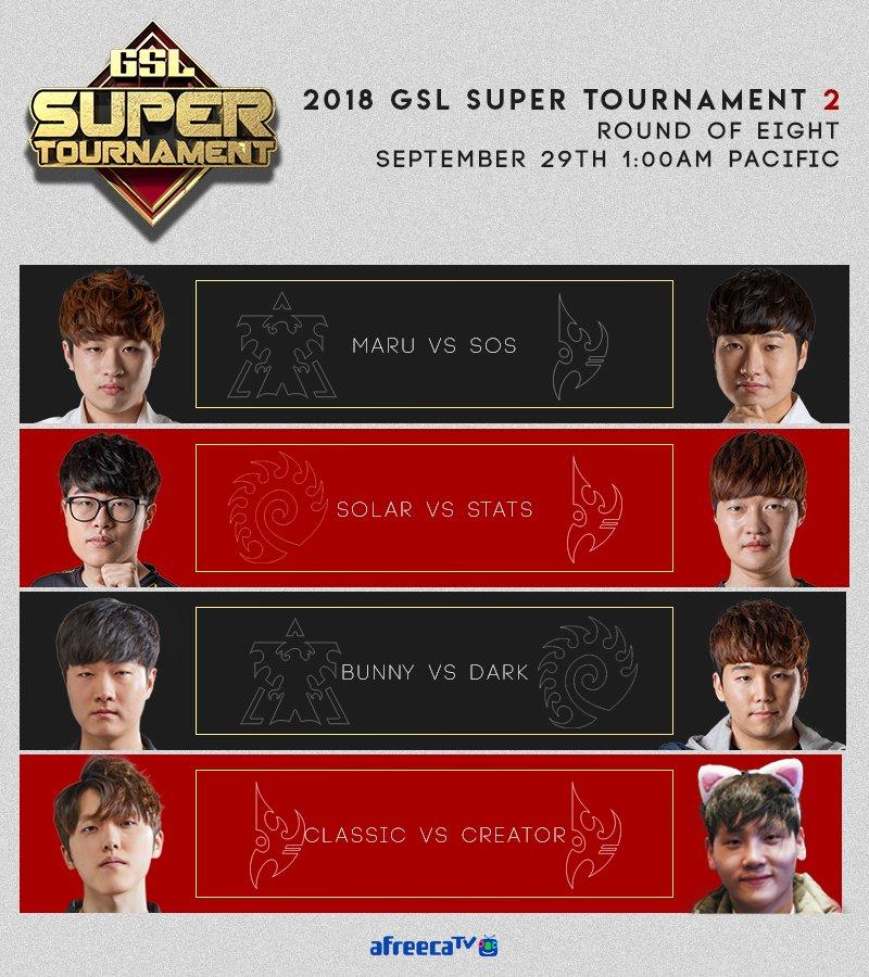 2018 GSL Super Tournament 2 3. nap