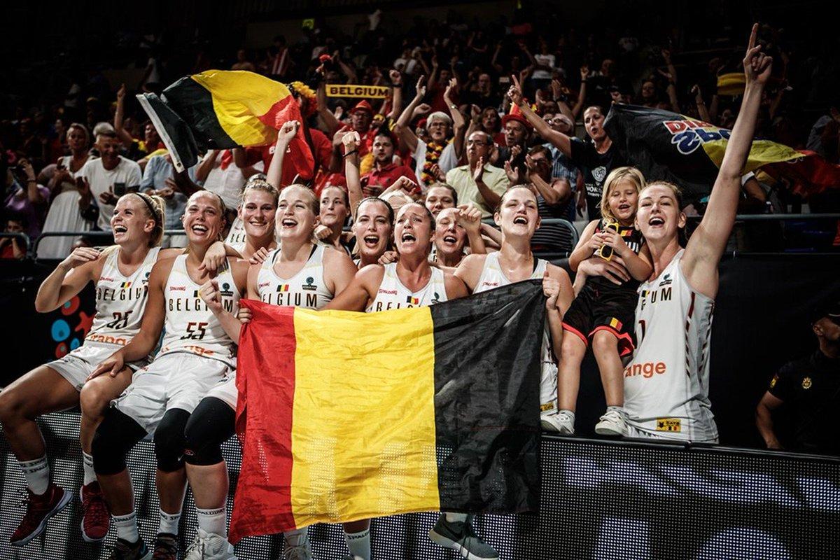 Não é só no futebol  Bélgica mostra força na Copa do Mundo de basquete e 53ff5b3213957