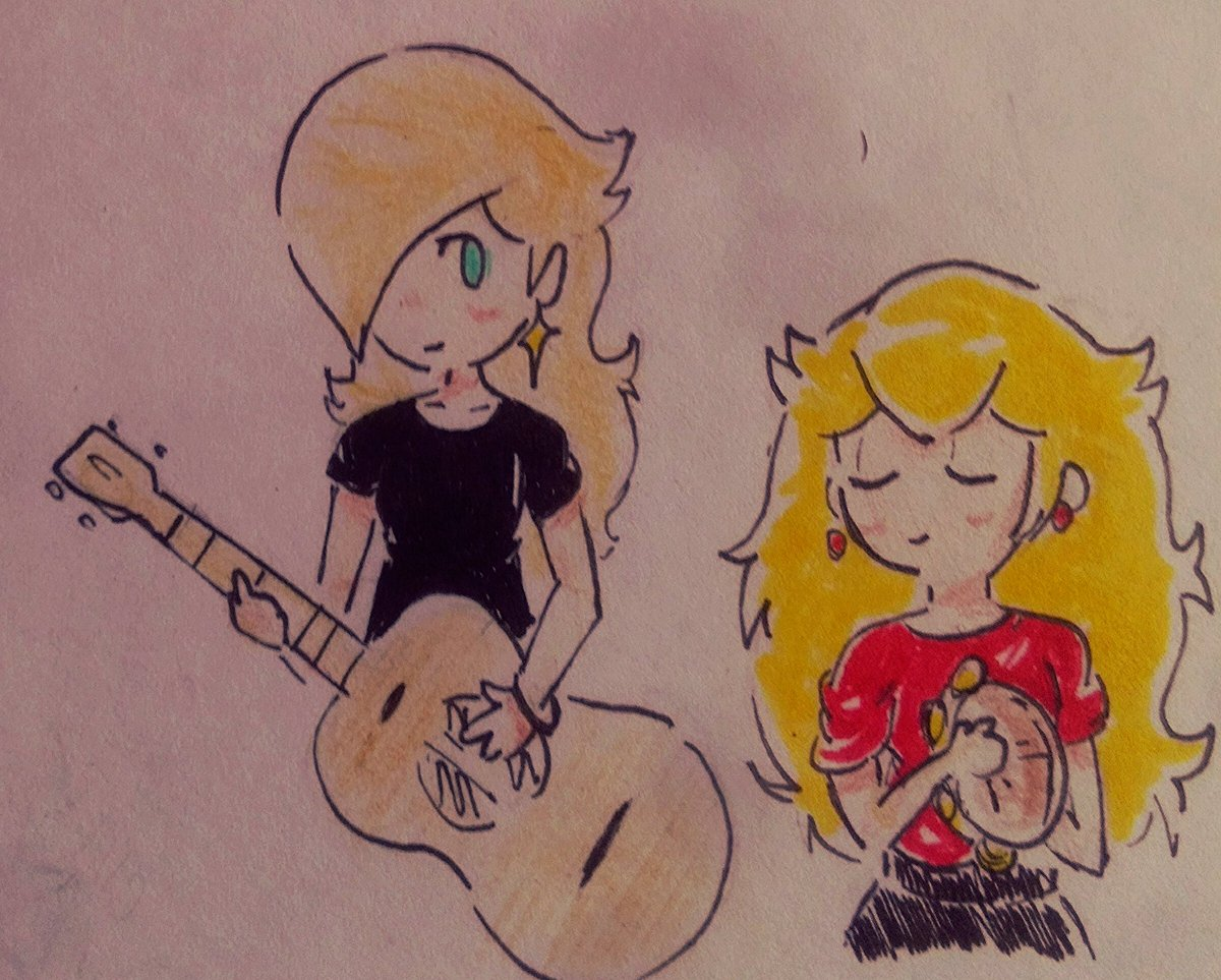 Really Liked That Rosalina Playing The Guitar In That