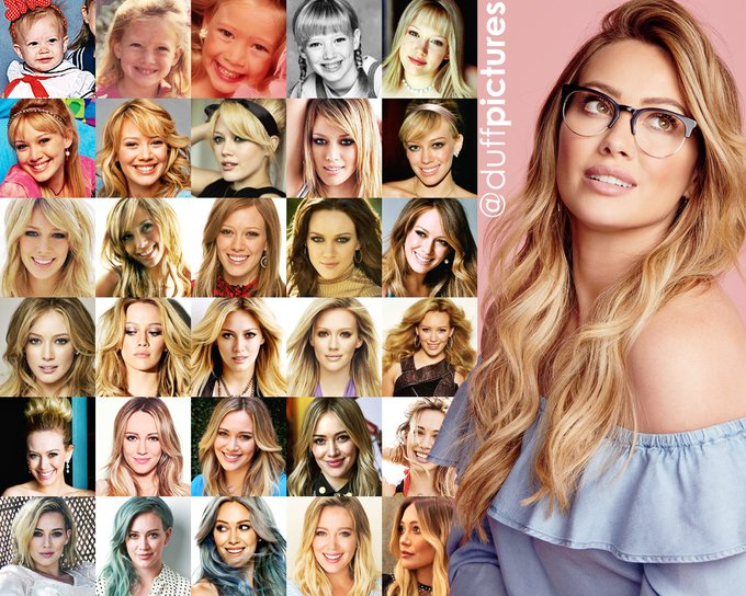 Hilary Duff through the years in 31 pictures. Happy 31st Bday Lady!