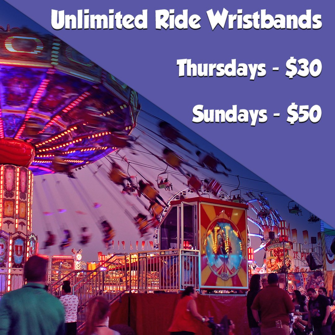 You Can Get Your Wristbands Ahead Of Time Below Or On Phone Via The Funp