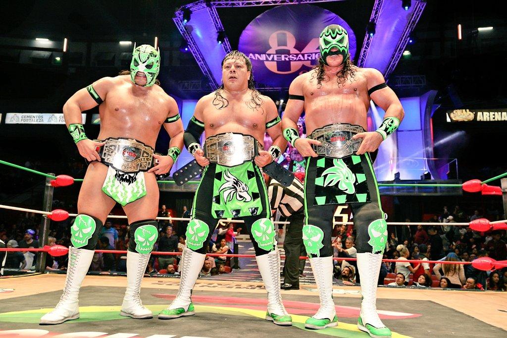 CMLL: Una mirada semanal al CMLL (Del 27 septiembre al 3 octubre de 2018) 5