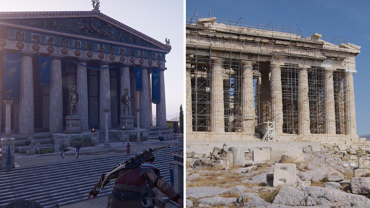 greek and roman architecture similarities