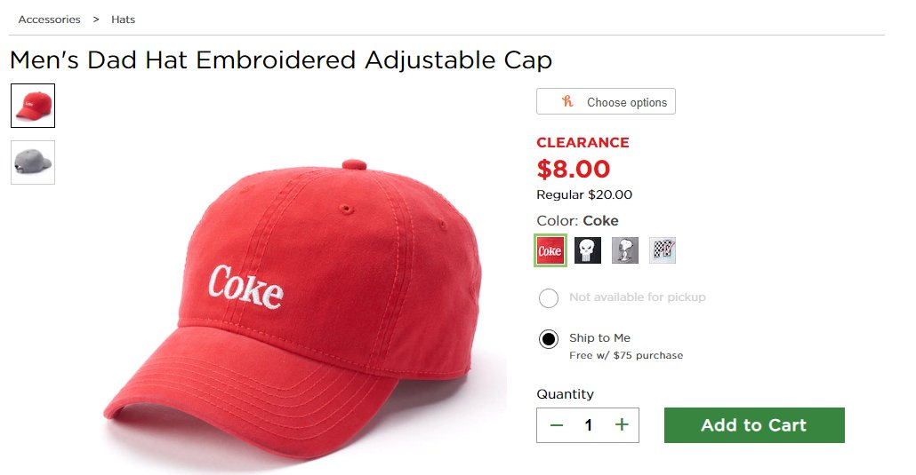 d8bdbbdc2c8 im losing my fuckinG mind over this god damn hat that just says coke it  doesnt