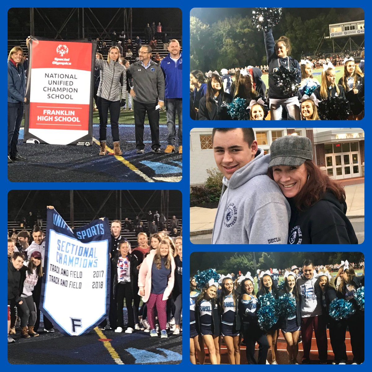 Here's your pic collage Mr. @FranklinHS !!! Such an awesome night celebrating @FHSBestBuddies and @FranklinUnified.