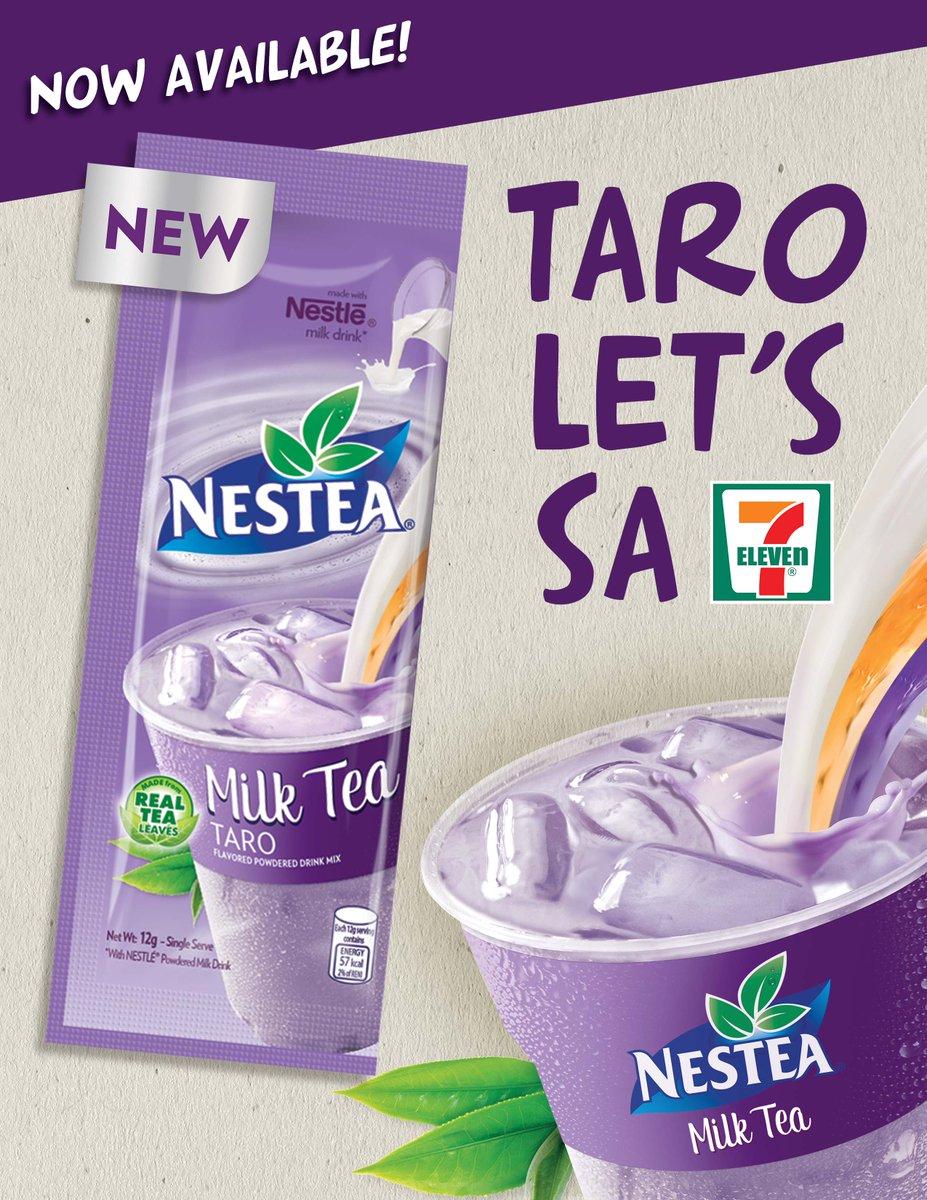 Taro let's! Try niyo na! #TaroLets #NESTEAMilkTea https://t.co/9JiLEI0haf