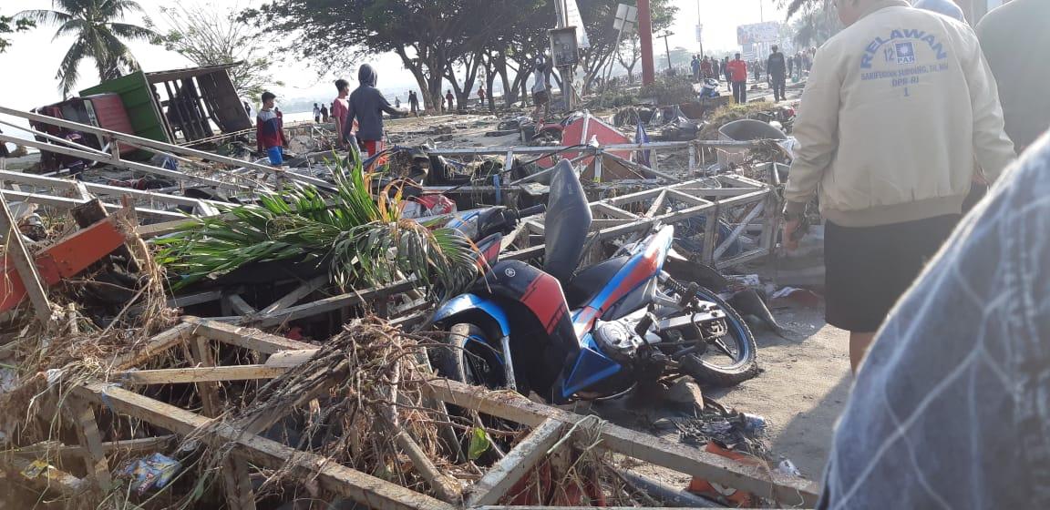 Kondisi Palu setelah terjadi Tsunami.