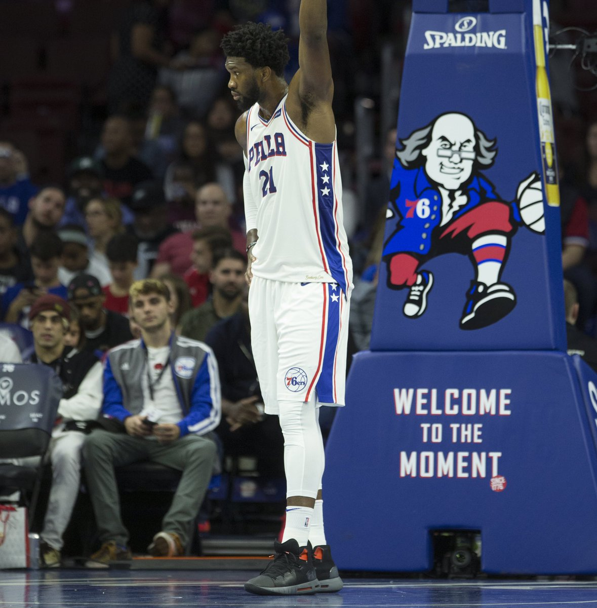 a51c2283de9 solewatch joelembiid begins the season in the under armour hovr havoc mid  mleffphoto