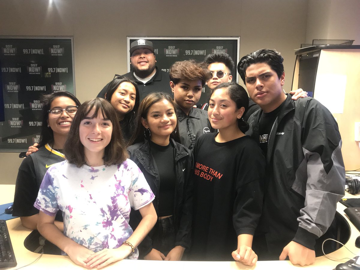THANK YOU SHARKS OF OCEANA HIGH SCHOOL!!! You guys killed it on air tonight!! If you want your school to be the next to #Takeover997 make sure you tweet us!!🦈🔥📻🎙
