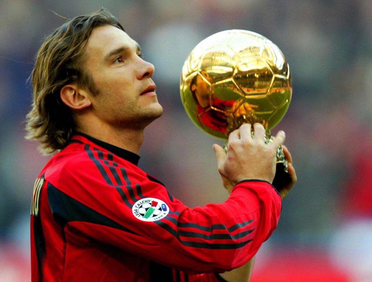 Resultado de imagen para andriy shevchenko ballon d'or