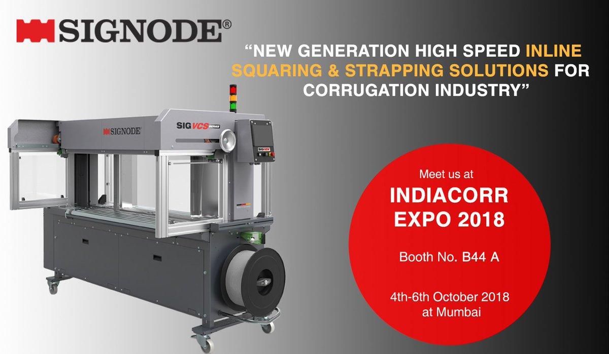 Signode India Ltd Presenting New Generation High Speed