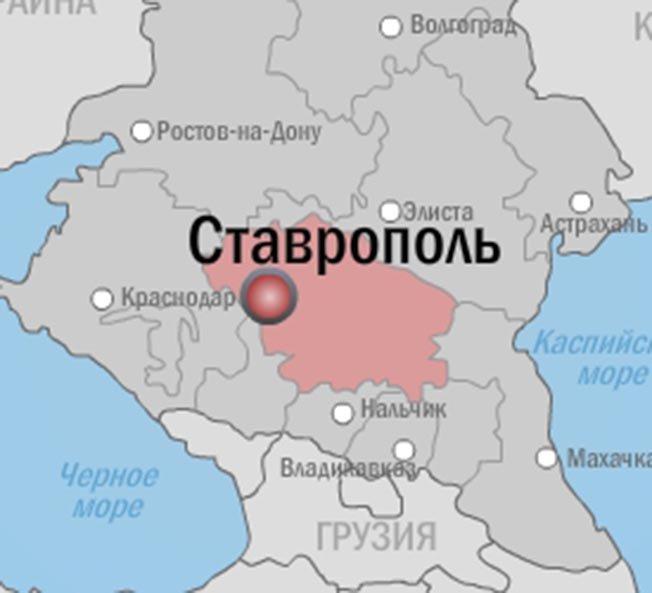 Карта города ставрополя картинка