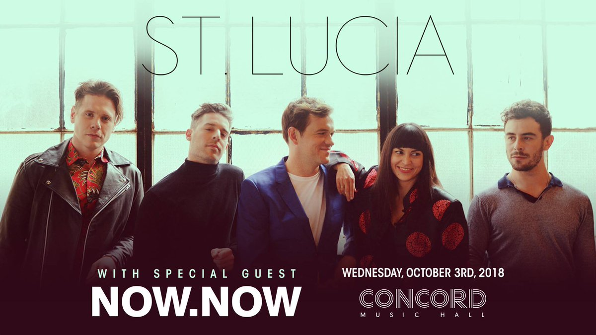 Concord Music Hall On Twitter TICKETS GOING QUICK Tickets
