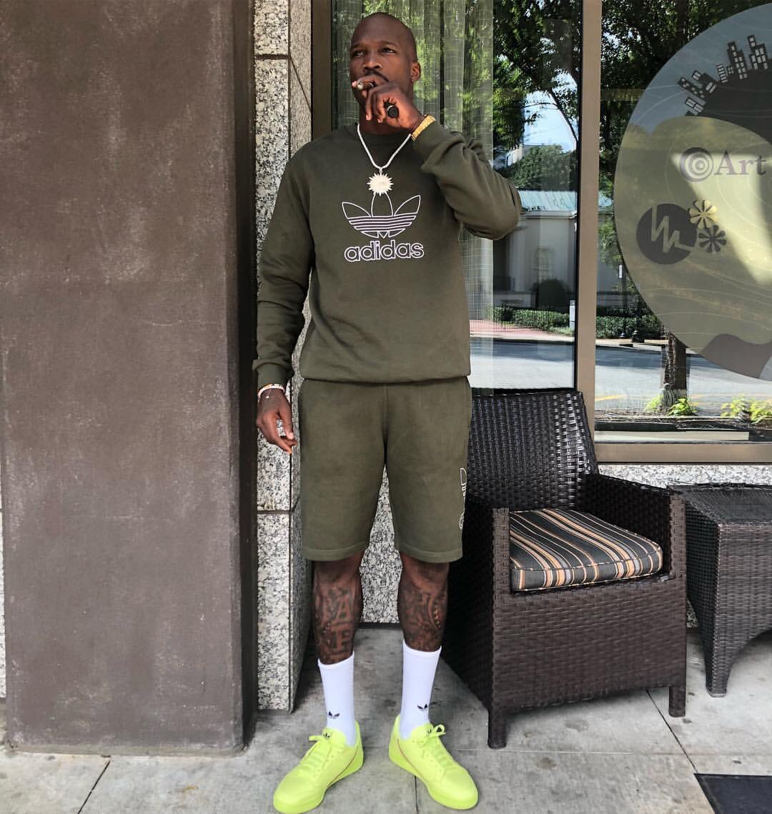 new styles presenting coupon code Frozen Yellow Adidas Continental : ochocinco kicking weekend ...