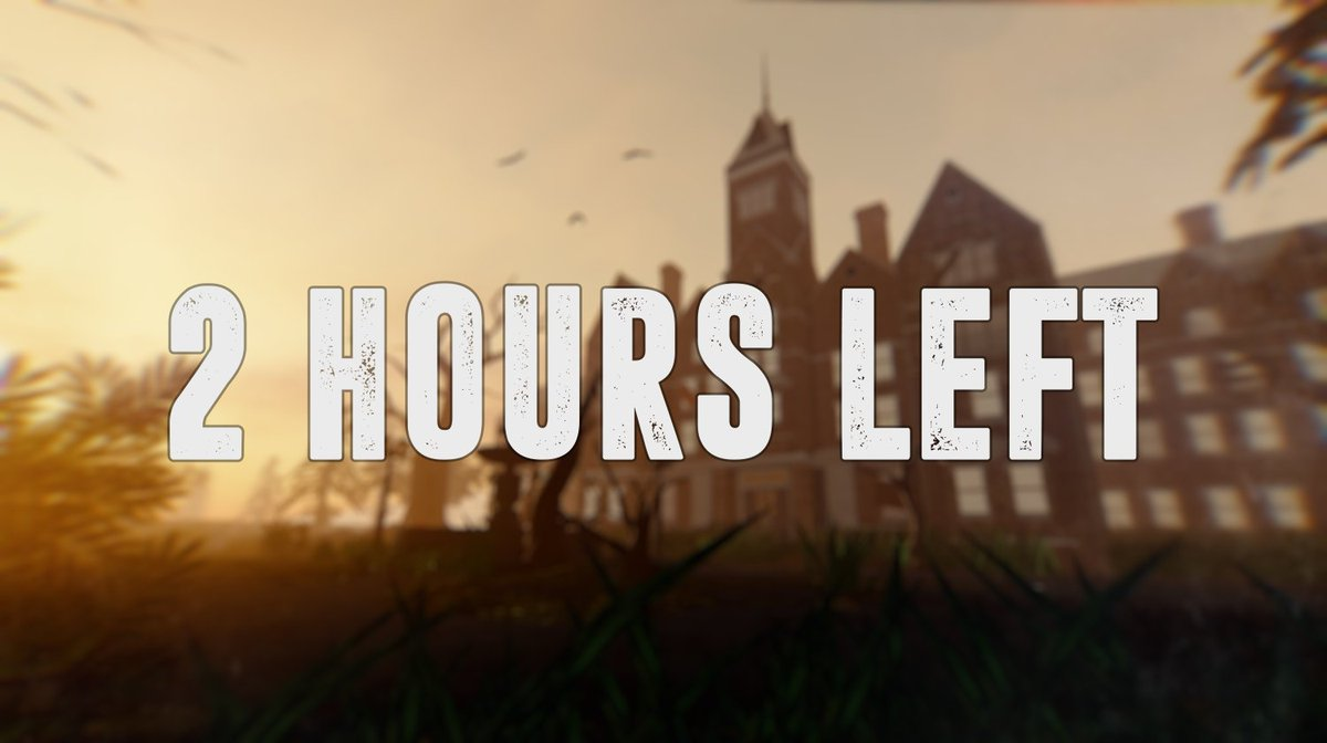 Clockwork Entertainment On Twitter Only 2 Hours Left Until