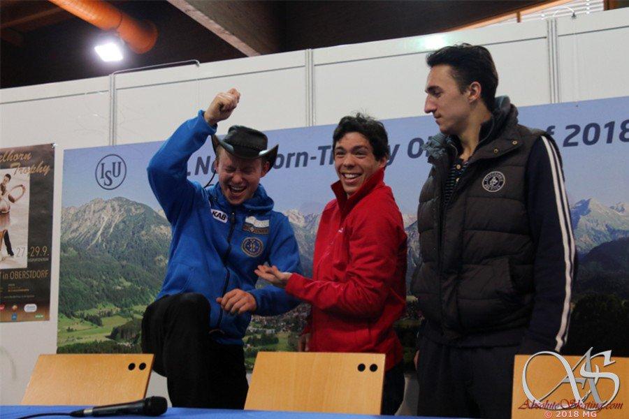 Challenger (6) - Nebelhorn Trophy. 26 - 29 Sep 2018 Oberstdorf / GER - Страница 12 DoRGblnXkAMAES_