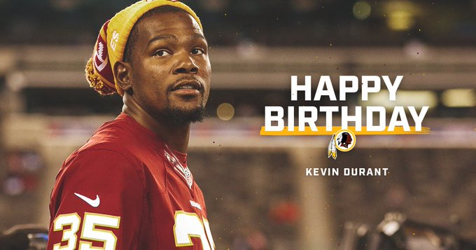 Wishing a happy birthday to SF & fan Kevin Durant!