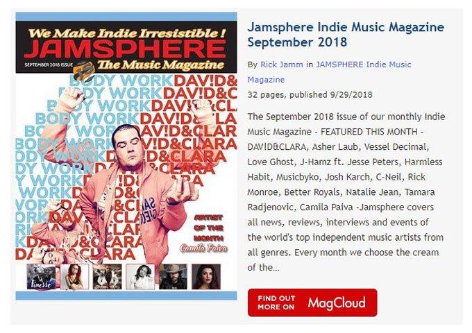 Jamsphere Magazine on Twitter: